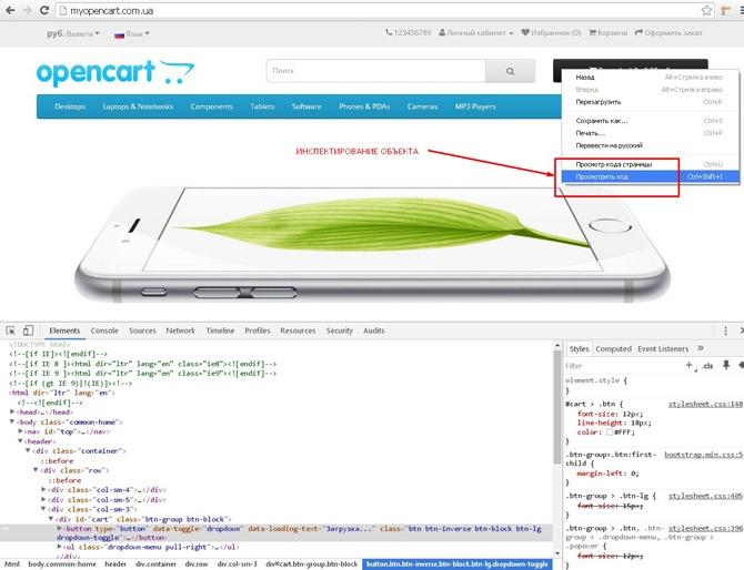 inspektiruem-ehlement-interfejsa-sajta-na-opencart-cherez-kontekstnoe-menyu