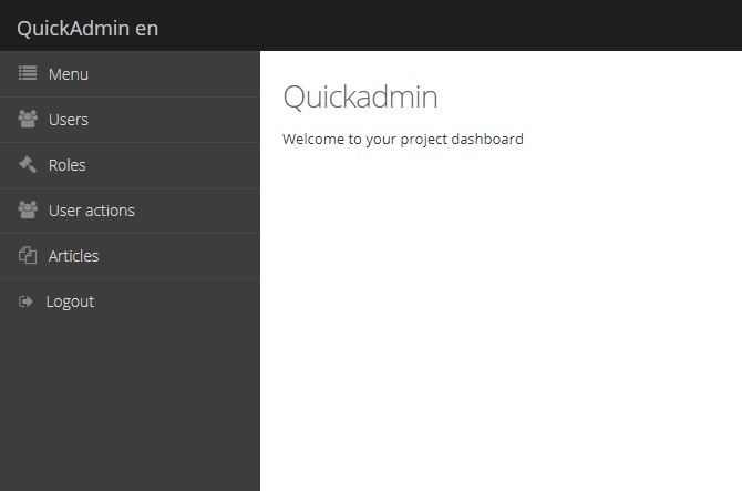 laravel-quickadmin-package-dashboard