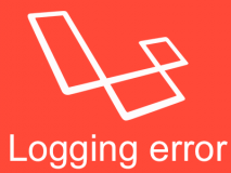 laravel-logging-error