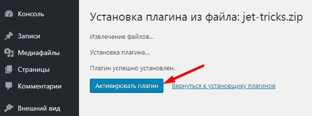 aktivaciya-plagina-dlya-elementor-wordpress